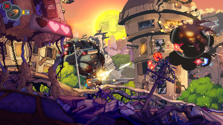 Rise & Shine: el shooter Made in Spain de Adult Swim llega el 13 de enero a Xbox One y PC