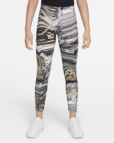 Sportswear Favorites Leggings Con Estampado Baile Nina 2kkq0n
