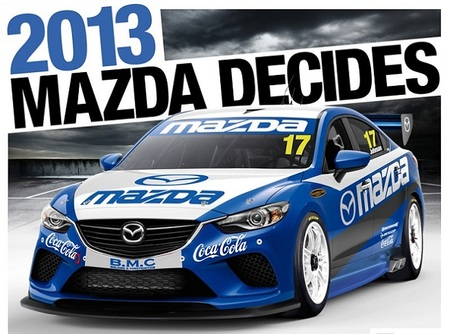 Mazda podría dejarse ver también en los V8 Supercars