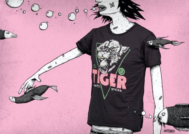 Foto de Pull and Bear: camisetas para el verano (4/6)