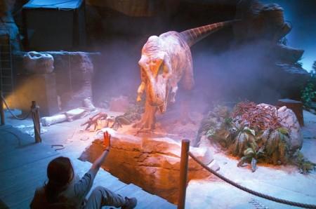 Espectáculo T-Rex Dinópolis