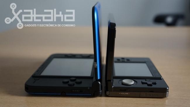 Nintendo 3DS tamaño comparativa