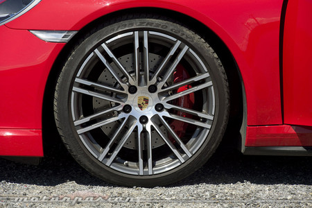 Porsche 911 Turbo llanta