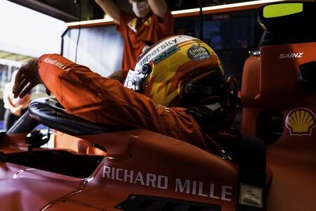 Carlos Sainz Ferrari F1 2021