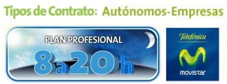 Movistar cambia las condiciones del Plan Profesional de 8 a 20h