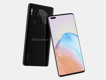 Huawei Mate 40 Render Filtracion Diseno