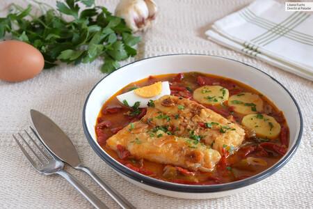 Bacalao a la tranca con pimientos asados: receta tradicional de Zamora ideal para Semana Santa