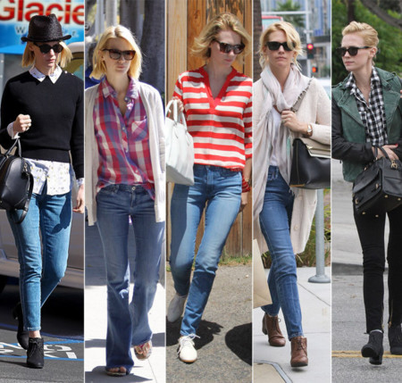 January Jones top street style 2013