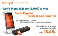 Simyo lanza nuevas tarifas de internet móvil empeorando las condiciones para usuarios esporádicos