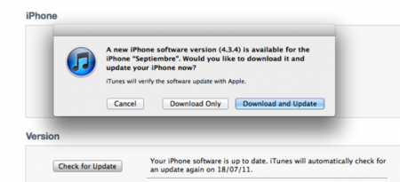 iOS 4.3.4 nueva actualización para solucionar el fallo de seguridad que permite el Jailbreak
