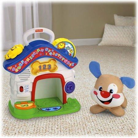 Mi mejor amigo, el bebé, su mejor amigo un perrito: ¡juguemos todos!