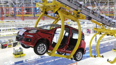 Fabricación del Fiat Panda