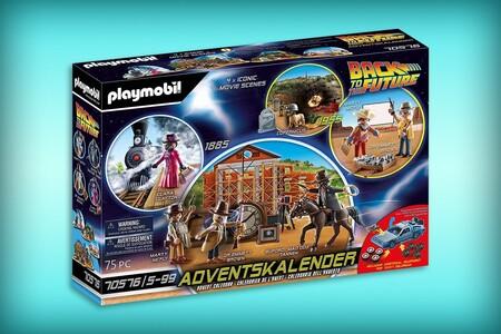 'Volver al Futuro' tendrá un calendario de adviento con Playmobil que ya se puede reservar en Amazon México