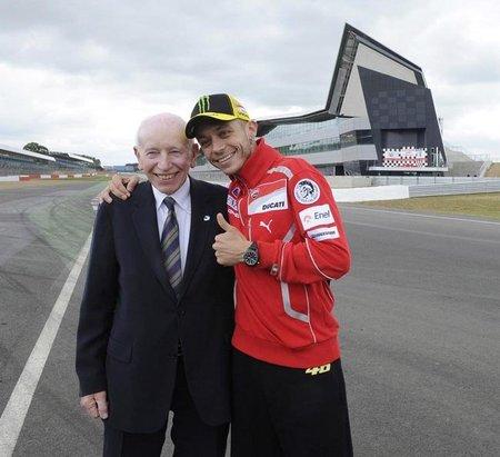 Valentino Rossi con John Surtees