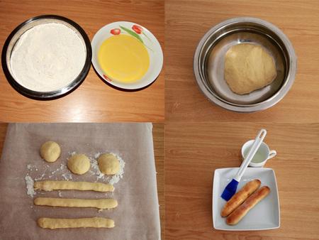 Paso a paso fartons valencianos con leche entera sin lactosa