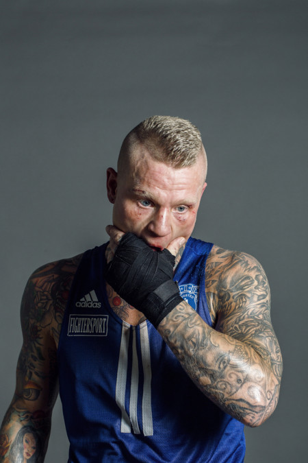 Second Best At The Zealand Boxing Championships Held In Copenhagen Daniel Heinze 27 Years Old 75kg From The Boxing Club Ringsted Bknikolai Linaressony World Photography Awards 2016
