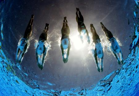 Hay un robot en la piscina de Río que hace las mejores fotografías subacuáticas en Juegos Olímpicos