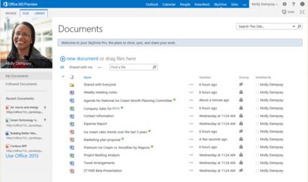 SkyDrive Pro ya se puede descargar en Windows