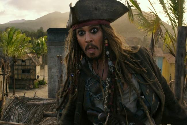Depp como Sparrow