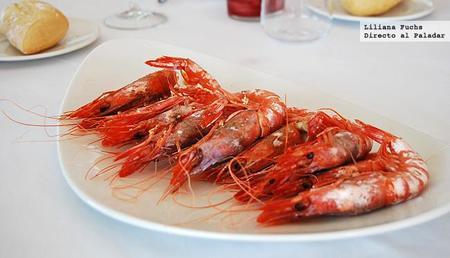 Restaurante Porto Chico. Gamba roja