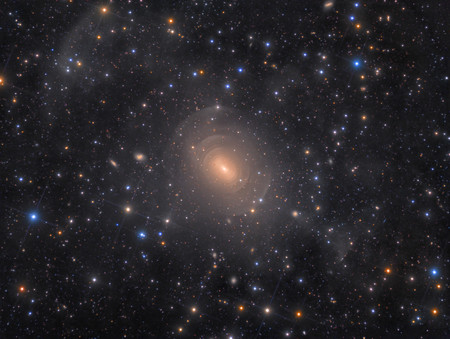 Shells Of Elliptical Galaxy Ngc 3923 In Hydra C Rolf Wahl Olsen