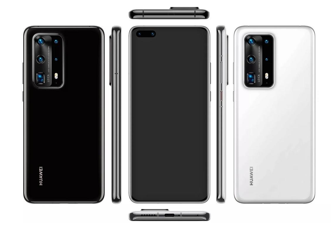 El Huawei P40 Pro se filtra en imágenes: dos agujeros en el ...