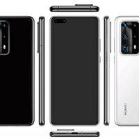 El Huawei P40 Pro se filtra en imágenes: dos agujeros en el frontal y módulo rectangular de cámaras a la vista