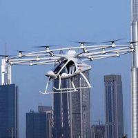 Volocopter, o cómo llegar al trabajo en Dubái en un taxi aéreo autónomo