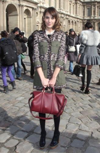 Tendencias en peinados para la Primavera-Verano 2010: el estilo de las celebrities. Alexa Chung