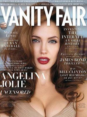 Angelina Jolie en Vanity Fair