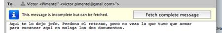 Opera 9.60: Descargando el resto de un mensaje