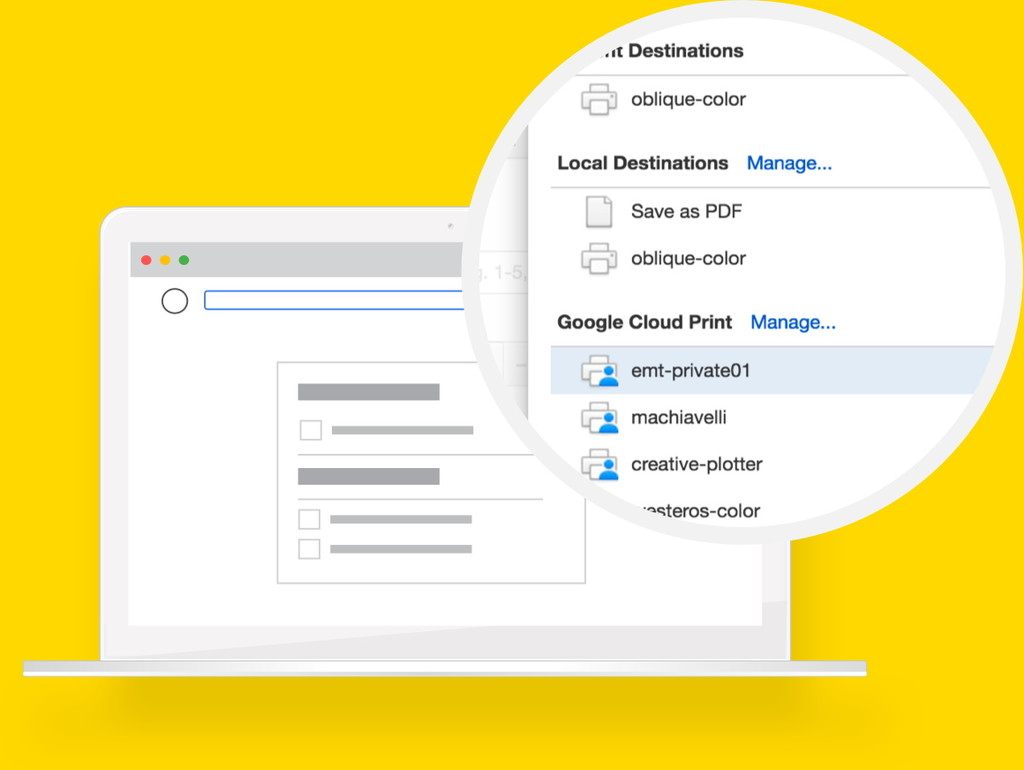 Google echará el cierre a su servicio de impresión en la nube Cloud Print, tras permanecer una década en estado beta