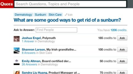 Quora prueba los créditos virtuales como manera de fomentar la participación y las respuestas