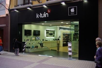 Nuevo Apple Premium reseller K-Tuin en Zaragoza, hemos estado