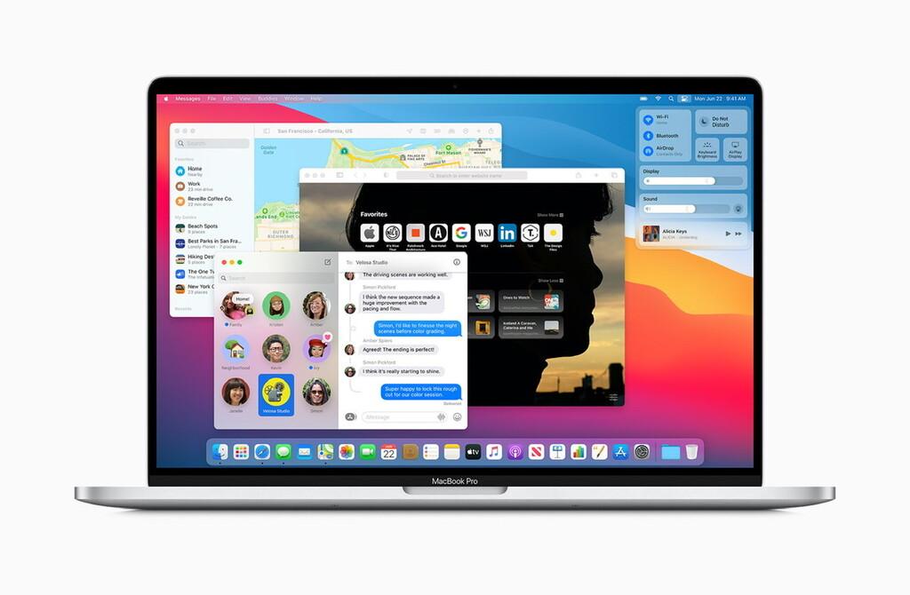 macOS Big Sur 11.3 añade ligeras mejorías visuales y de control para las aplicaciones de iPadOS