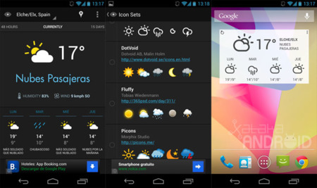 Eye In Sky Weather para Android
