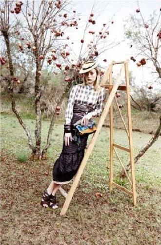 Foto de Más imágenes de la campaña de Marc Jacobs Primavera-Verano 2009 con Raquel Zimmerman (11/20)