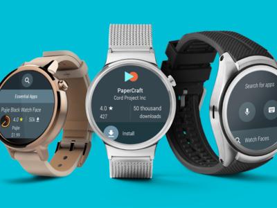 Los relojes Android Wear 2.0 reciben novedades y mejoras a través de Google Play