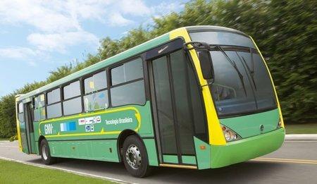 Grupo Volkswagen presenta en Brasil el Volksbus Flex GNV+Diesel