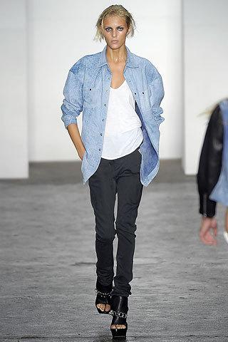 Alexander Wang en la Semana de la Moda de Nueva York primavera-verano 2009