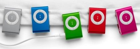 Lo que no se ha dicho en la Keynote: Nuevos colores para el iPod Shuffle