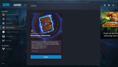 Battle Net Regalos