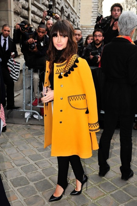 Miroslava Duma en Hermès