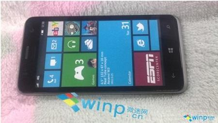 Se muestra otro móvil Huawei con Windows Phone 8