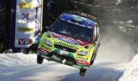 Mikko Hirvonen golpea primero en el Rally de Suecia