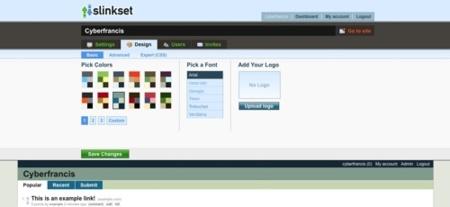 Slinkset, crea tu propia comunidad de promoción de noticias