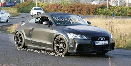 Audi TT-RS, en las fases finales de pruebas
