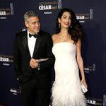 George Clooney y Amal luciendo embarazo mientras Brad Pitt se 'mosquea' con Angelina