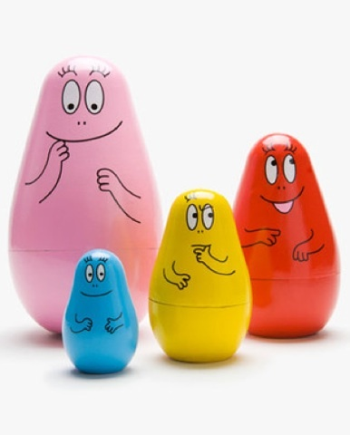 Matrioskas Barbapapa