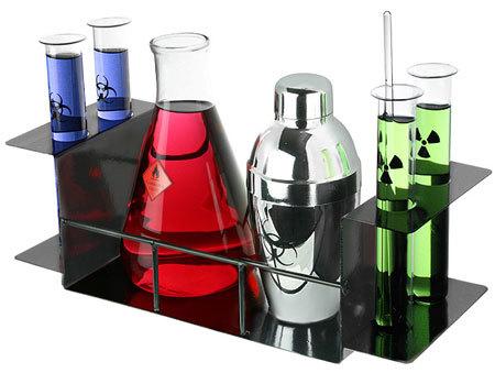 Detalle para la casa de... un químico (IV)